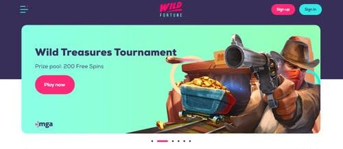 Wild Fortune Casino Wet 1