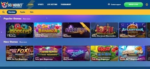Scandibet Casino Met 2