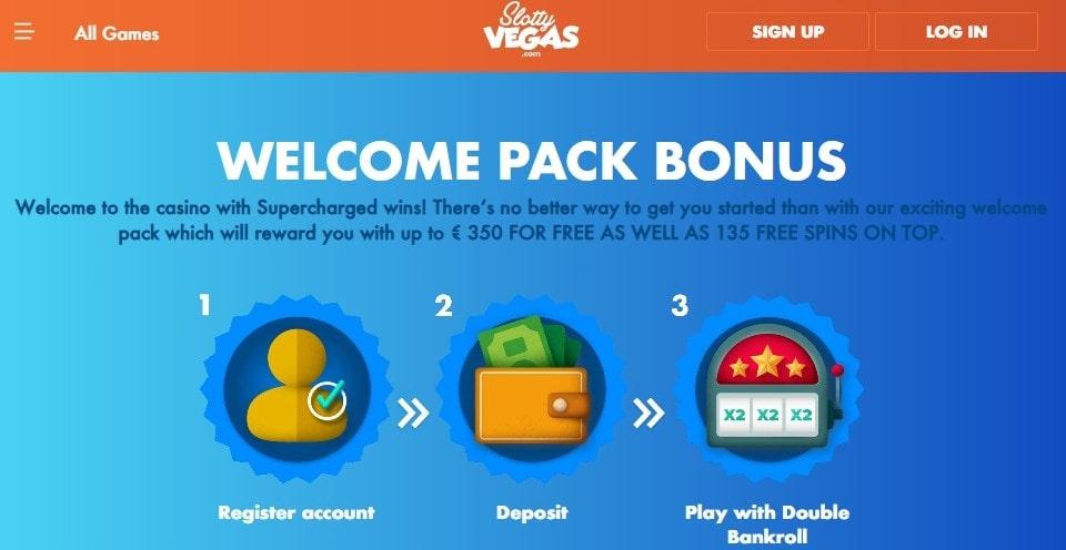 GoSlotty Casino Bonus