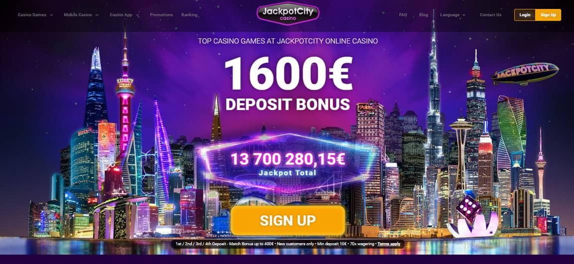 Jackpot City Сasino Bonus