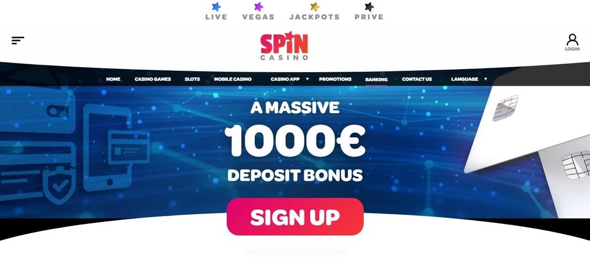 Spin Casino Bonus Euro