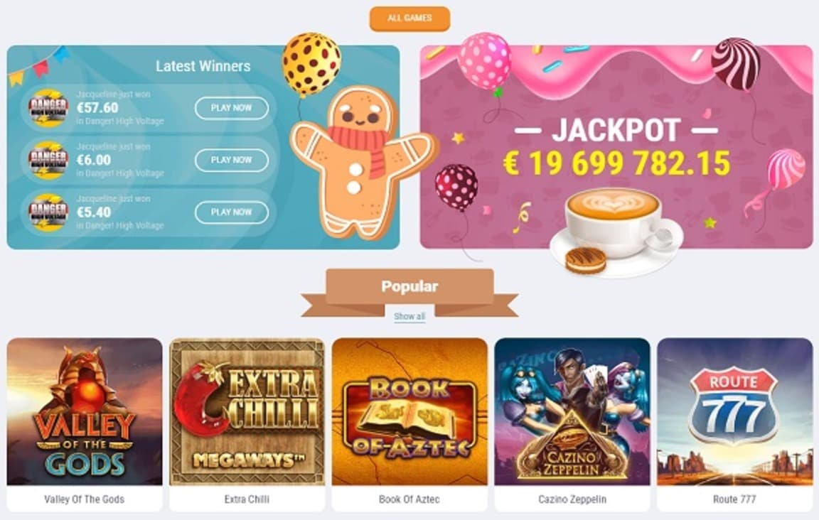 Cookie Casino Slot Review